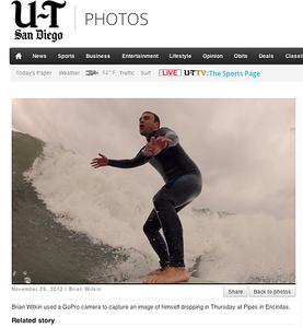Surfing at Pipes: November 29th, 2012.