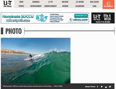 San Diego Union Tribune: April 30th, 2014