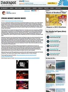 Sprung Monkey Article With Mick Fanning