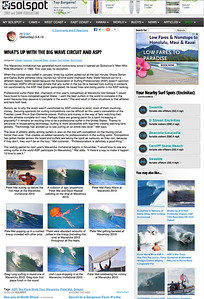 Solspot editorial on the Mavericks Invitational: May 4th 2013.