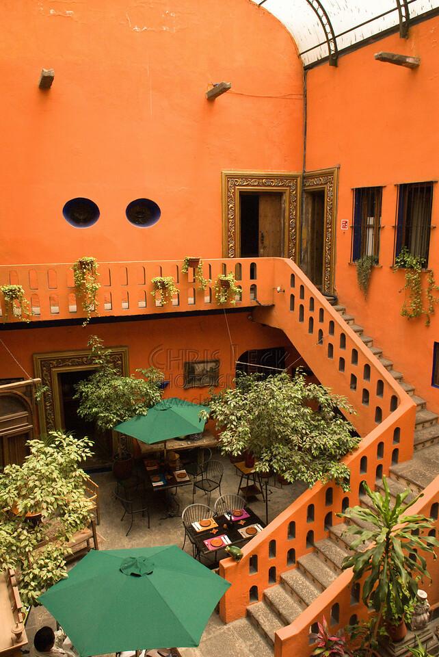 Interior view of Mesón Sacristía de la Compañía Hotel