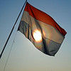 Sunrise on Dutch Flag