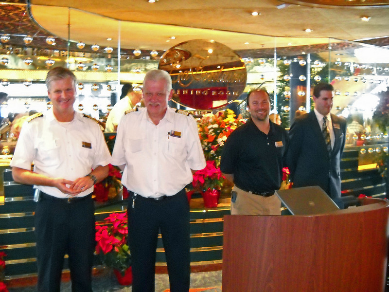 Captains and Cruise Director