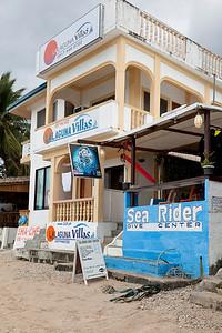 One of many Sabang dive shops.
