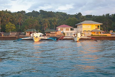 First day in Philippines - Batanga Port where from my private boat tuck me to Sabang.