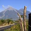 An active volcano near Antigua, Guatemala.