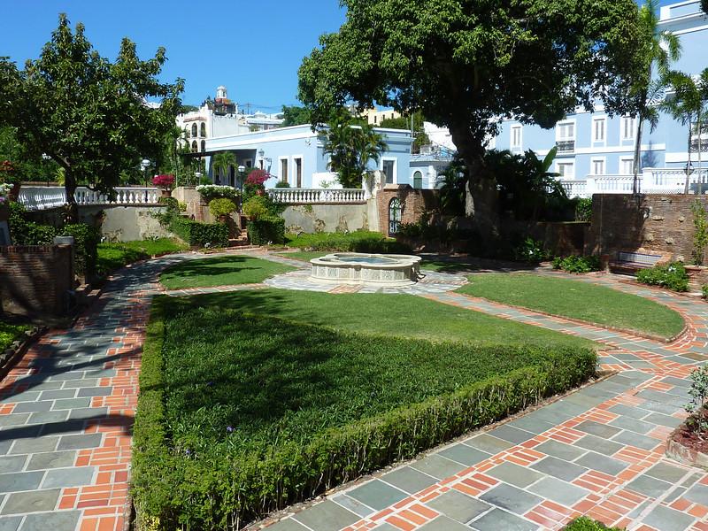 Garden, La Forteleza, Old San Juan