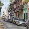 Downtown old San Juan