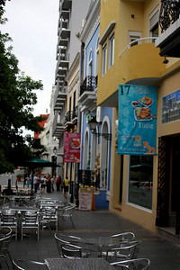 Street view of Old San Juan
