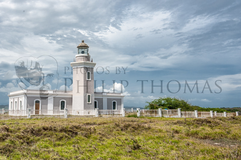 Los Morrillos lighthouse stands guard over the southwestern-most tip of Puerto Rico in Cabo Rojo