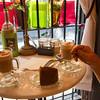 Cappuccino and Pistachio Cake