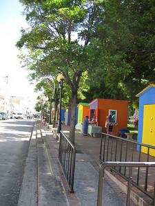 Calle Union, at Plaza las Delicias, Ponce