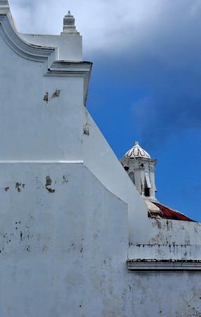 Old San Juan Square Detail