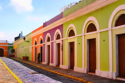 Old stables behind El Morro, Old San Juan, Puerto Rico