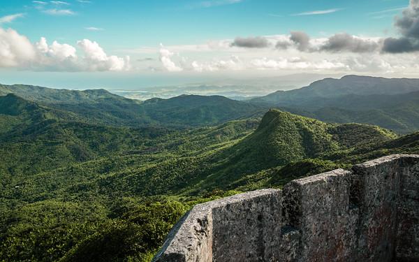 Torre Mt Britton, El Yunque National Forest, Puerto Rico, USA