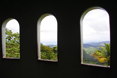 Yokahu Tower in El Yunque National Rain Forest