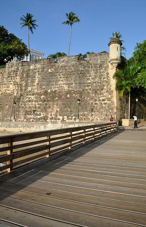 Old San Juan - Pier from City Gate