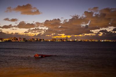 San Juan evening