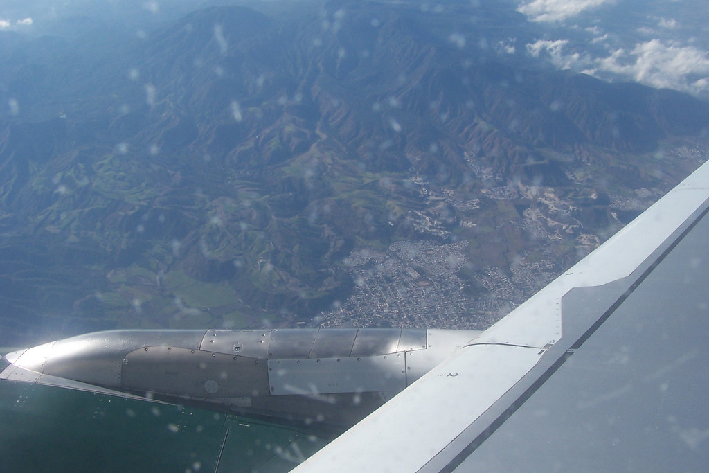 Flying over Puerto Vallarta