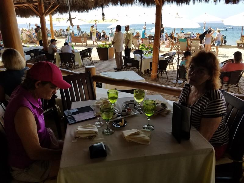 Breakfast on the Beach!