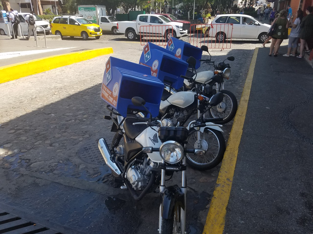 Pizza delivery in Puerto Vallarta
