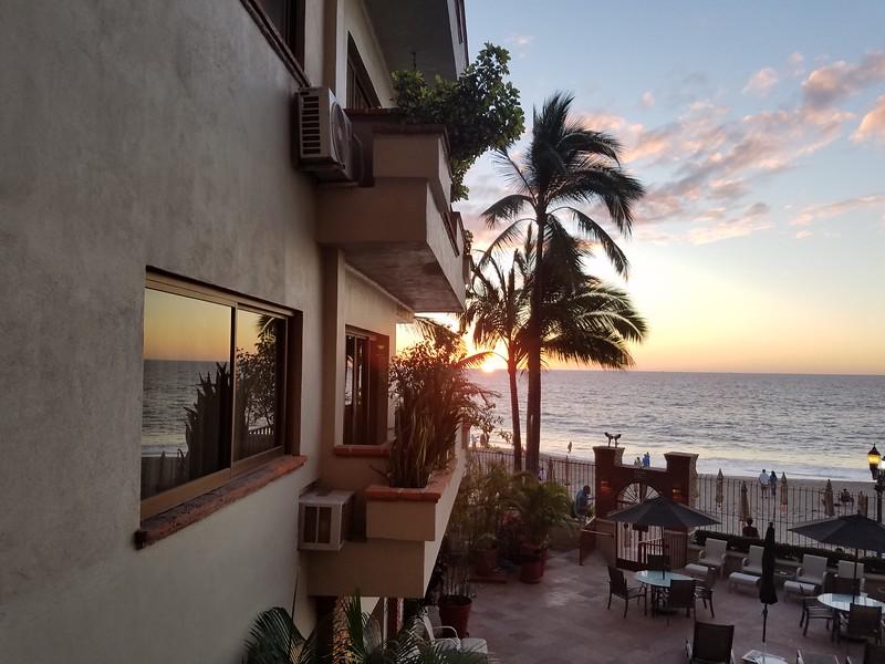 The last sunset in Puerto Vallarta.  Sadness.