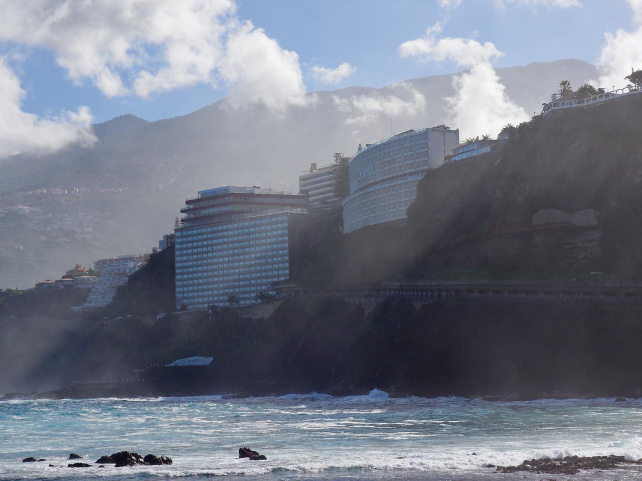 Hotels at Puerto de la Cruz