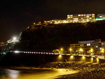 Puerto de la Cruz by night