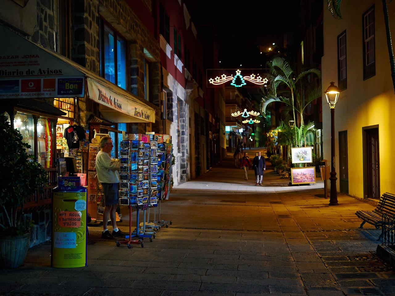 Diario de Avisos. Puerto de la Cruz by night
