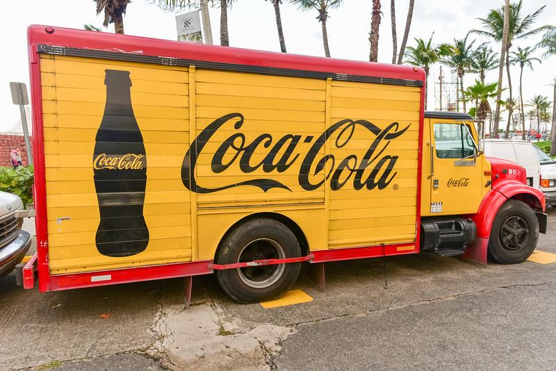 Classic Coca-Cola Delivery Truck