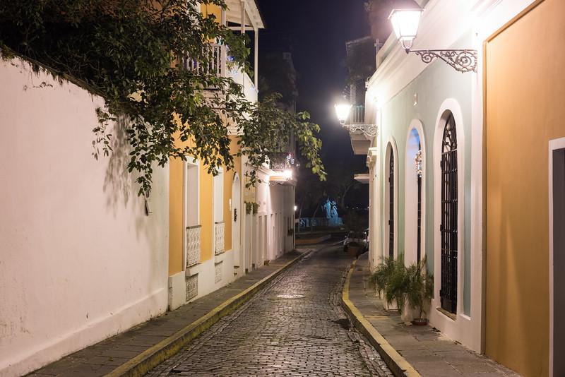 Nuns Street - Old San Juan, Puerto Rico