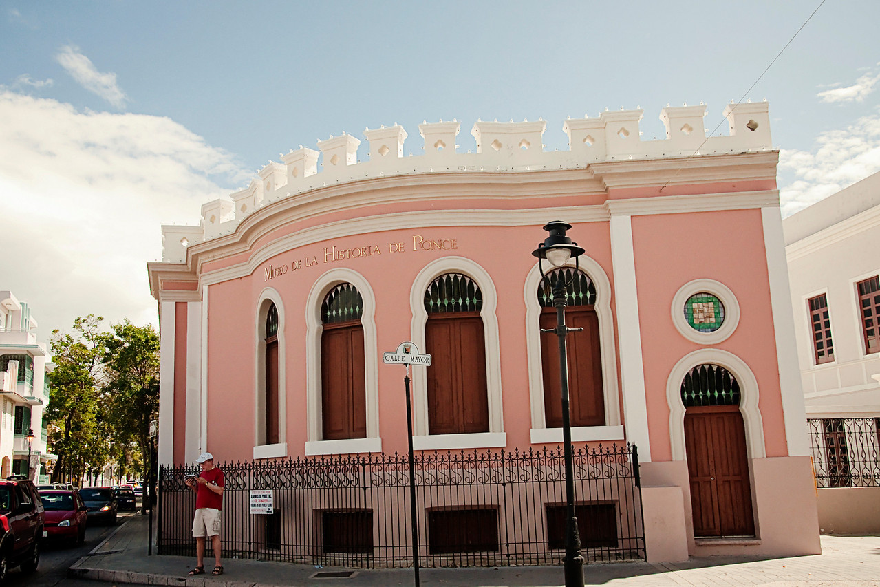Museo de la Historia de Ponce: The museum's exhibits trace the history of Ponce from the 17th century to the present day.  787-844-7071, open 9am to 5 pm Tues-Sun.