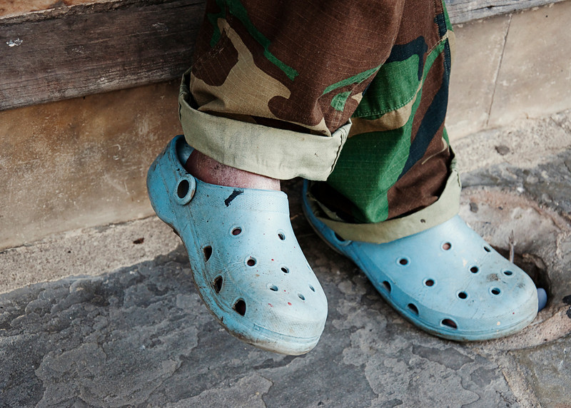 These were not real Crocs.