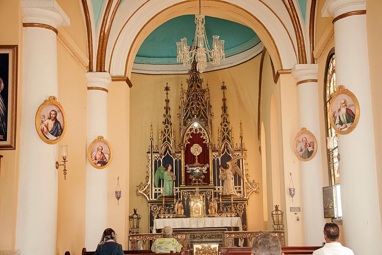 Inside Catedral de Nuestra Senora de la Guadalupe