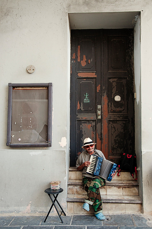 Accordion dude