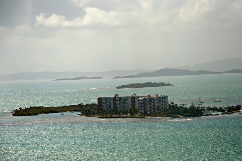 A private island.