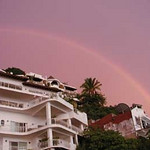 Rainbow over Old Town, Puerto Vallarta, Mexico (Erskine)