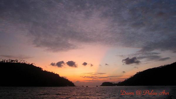 Malaysia - Pulau Aur 4th July 2009