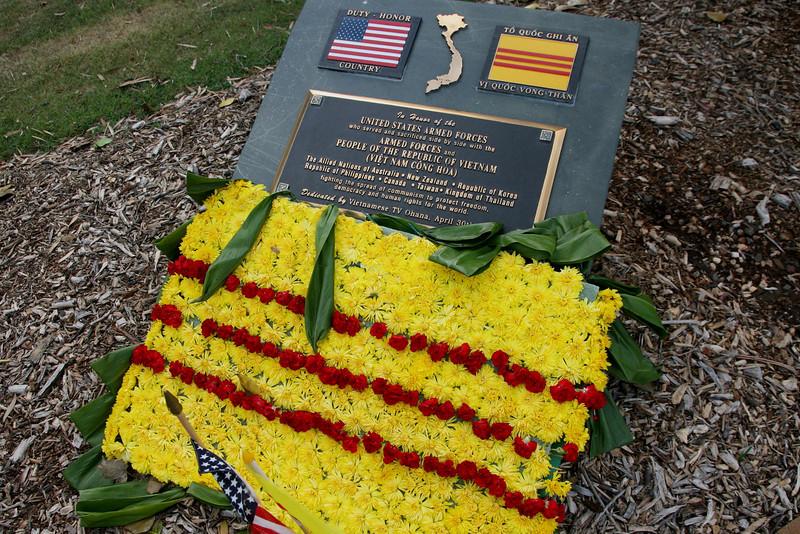 Vietnam memorial.