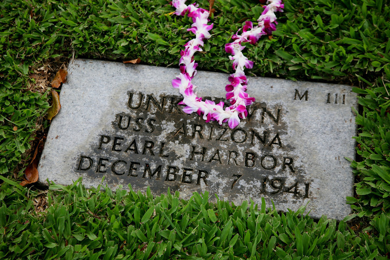 Unknown sailor, USS Arizona.