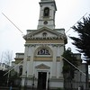 A town church in Punta Arenas, Chile.