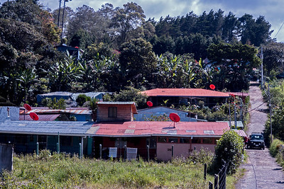 Houses in Costa Rica's countryside
