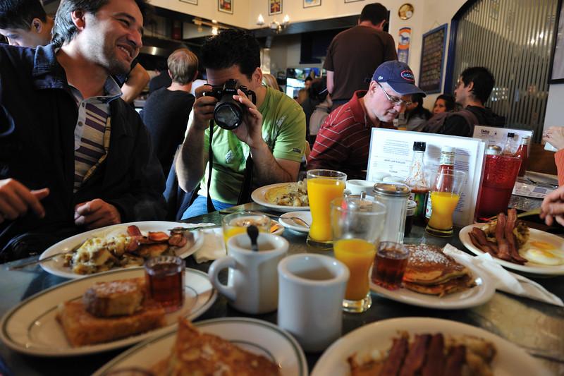 Dotties' breakfast! Miam!