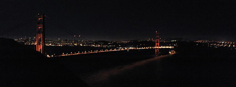 Golden Gate by Night