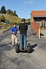 myself on the segway