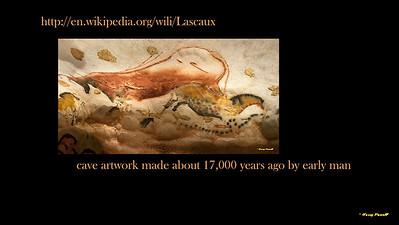 next stop the ancient cave art at Lascaux