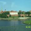 Wawel Castle from the bus.