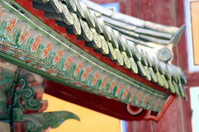 More Bulguksa detail ... lots of paint!