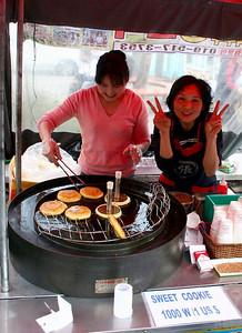 Locan vendors making some tasty treats