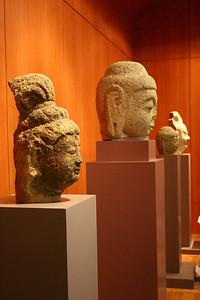 Random statuettes at the museum